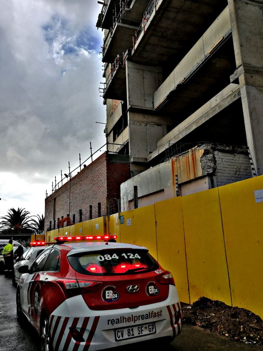 Man critically injured in accident at a construction site in