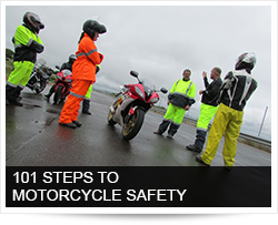 101 STEPS TO MOTORCYCLE SAFETY
