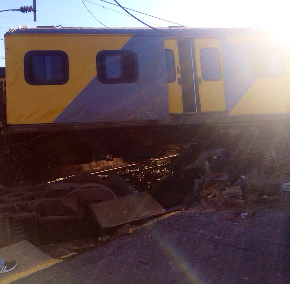 Train Crashes Into Back Of Another Train At Denver Train