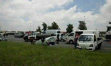 One injured in collision on the N3 South at the Elands Interchange