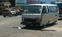 Taxi collides with vehicle allegedly skipping red traffic light