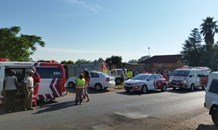13 people have been injured in multiple unrelated collisions in Middelburg