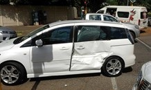 T- bone crash in Greenside after bakkie driver allegedly skips traffic light