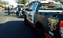 Collision in Boksburg North after alleged traffic violation at intersection
