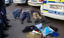 Three arrested during patrols in Nyanga in possession of police uniforms