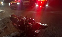 Motorcyclist injured in collision at intersection in Johannesburg