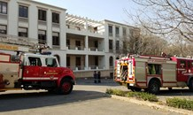 Structural fire at the ICASA head office on Katherine Drive, in Sandton