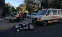 Motorcyclist seriously injured in collision in Illovo