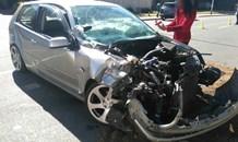 Car collides with truck making alleged illegal U-Turn in Lyndhurst