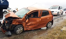 Collision at the intersection of the R511 and R114, in Diepsloot.