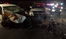Head-on collision on Plantation and Summit, in Midrand injures 8 people