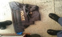 Suspects arrested in possession of drugs, one SAPS bullet proof vest and R5 rounds of ammunition.