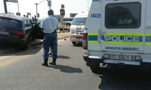 Shooting at Olifantsfontein Road after motorist is followed from bank