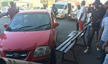 Man struck by vehicle while sitting on bench in Turffontein