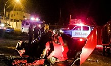 4 dead & 2 seriously injured after two bakkies collide head-on, R23 towards Balfour, Heidelberg