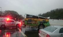 20 Injured in massive bus crash on the N2 Durban