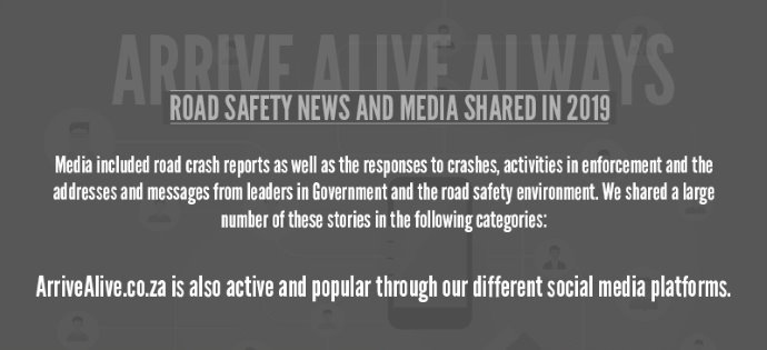 Road Safety News and Media Shared in 2019