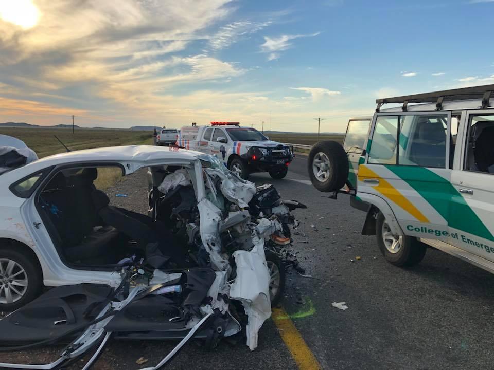 Fatal crash on the N8 between Petrusburg and Kimberley