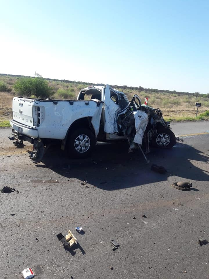 Two dead after a accident between two vehicles on the N1 South near