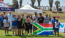Beautiful photos capture joy at athletics event hosted by Down Syndrome Association of Pretoria / Tshwane