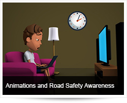 Animations and Road Safety Awareness