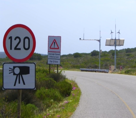 Speed Camera On Turn