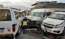 Multiple people injured in taxi crash in Durban