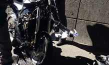 Biker critically injured on the N12 West, Bedfordview