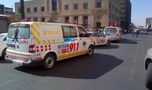 Pedestrian injured following collision with a car on Rebecca street in Pretoria