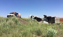 Two injured in vehicle rollover between Brandfort and Theunisseun
