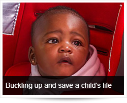 Promote buckling up and save a child's life - A medical Perspective