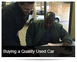 Buying a Quality Used Car and Safety on the Road