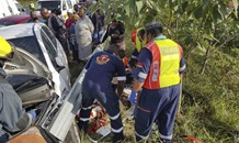 Collision on the R603 in the Lovu Township area