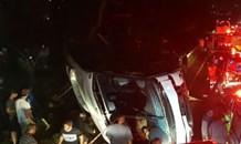 25 ambulances, 10 rapid response vehicles and at least 60 medics assisted on the scene of bus crash at Amanzimtoti
