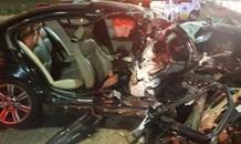 Fatal single vehicle crash in Melrose, Johannesburg