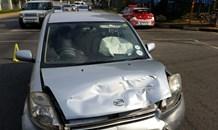 Child injured in collision, Randburg.