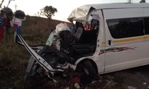 Taxi driver, conductor extricated from vehicle following collision