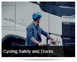Cycling Safety and Sharing the Roads with Trucks