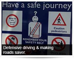 vehicle components leads to safe driving