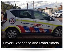 Driver Experience, Driver Inexperience and Road Safety