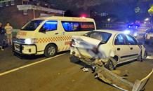 5 Injured in crash on Esther Roberts Road