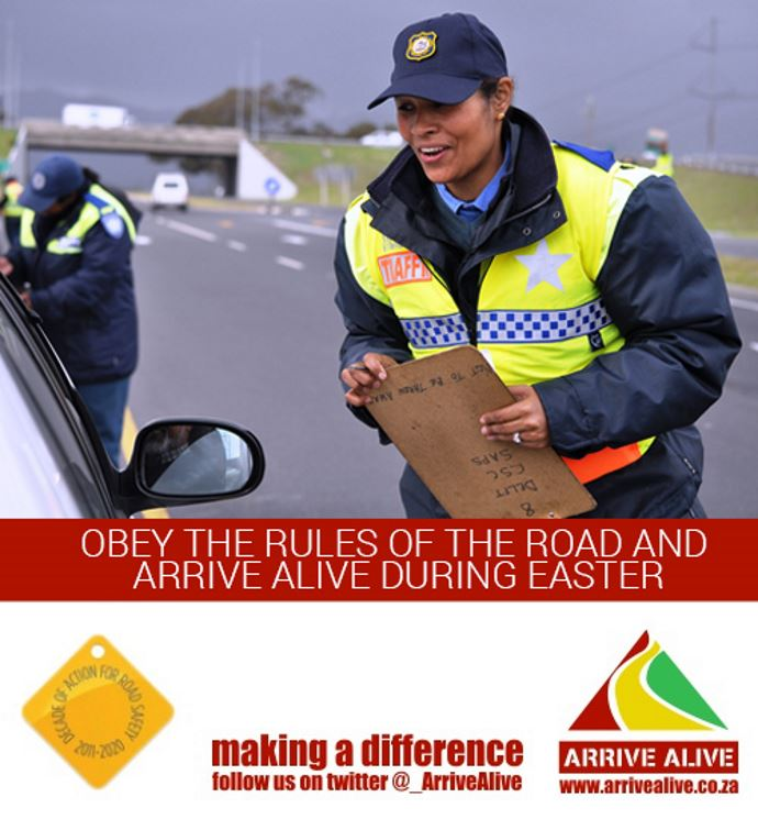 Road Safety Tips For Easter 2018