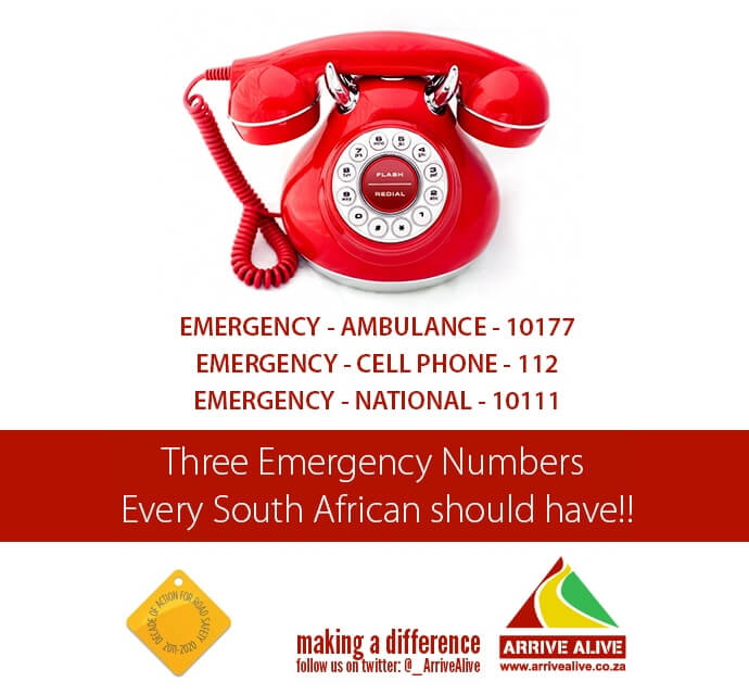 South African Emergency Numbers