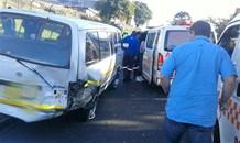 5 Injured in Pinetown taxi  crash