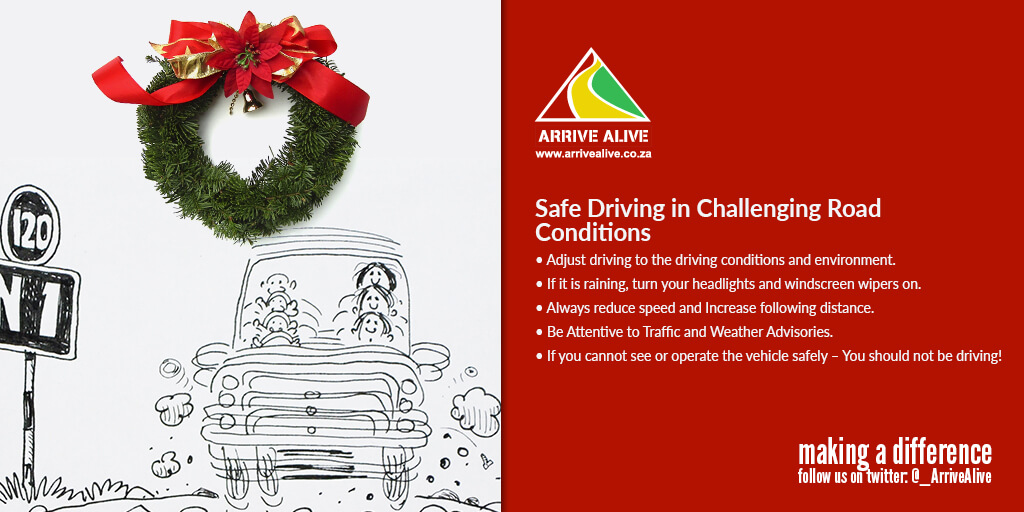 b24ef56d56b Road Safety with a Cautious Smile for the Festive Season
