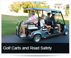 Golf Carts and Road Safety / Golf Course Safety on crane crashes, heavy equipment crashes, utv crashes, bus crashes, 4 wheeler crashes, golf buggy crashes, quad crashes, toy train crashes,
