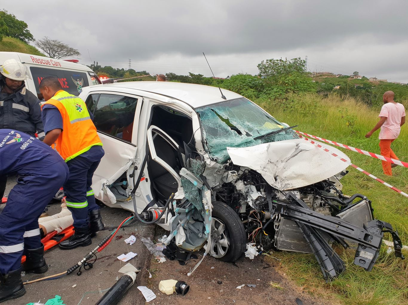 Young woman killed in Saturday morning accident