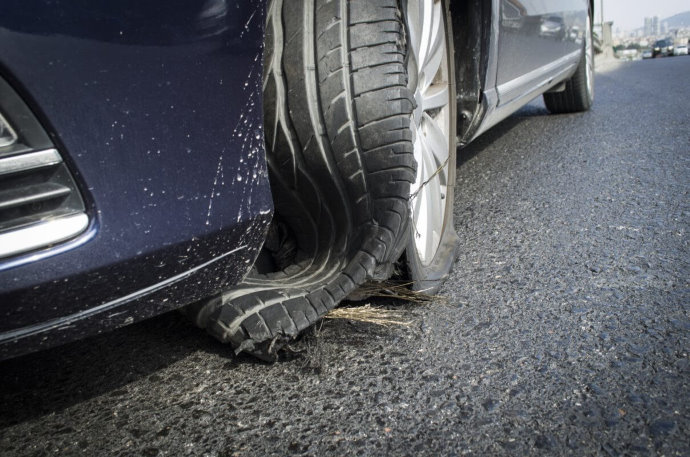 Have you observed a significant increase in tyre failure from damage caused by potholes