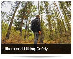 Hikers and Hiking Safely