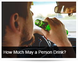 How Much May a Person Drink?